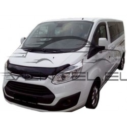 FORD TRANSIT CUSTOM 2012 up HOOD PROTECTOR STONE BUG DEFLECTOR