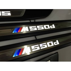 EXCLUSIVE DOOR LED SILL PLATES FOR BMW 5 F10 F11 WITH ILLUMINATION