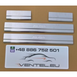 DOOR SILL PLATES FOR FORD KUGA 2008 up