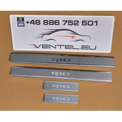 DOOR SILL PLATES FOR KIA RIO 2011 up