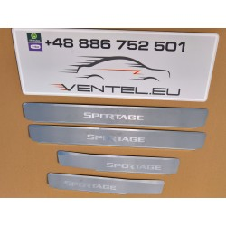 DOOR SILL PLATES FOR KIA SPORTAGE 2015 up