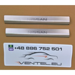 DOOR SILL PLATES FOR NISSAN PRIMASTAR 2001 up