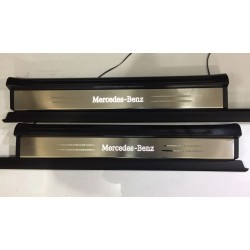 EXCLUSIVE DOOR LED SILL PLATES WITH ILLUMINATION FOR MERCEDES-BENZ SLK R171