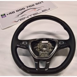 CARBON STEERING WHEEL FOR VOLKSWAGEN PASSAT B7 2010 up