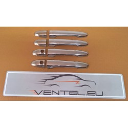 STAINLESS STEEL DOOR HANDLE COVERS FOR MERCEDES-BENZ SPRINTER W906, VW CRAFTER