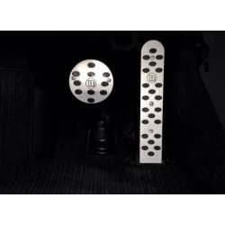 ALUMINUM PADS ON THE PEDALS FOR SMART FORTWO I 450