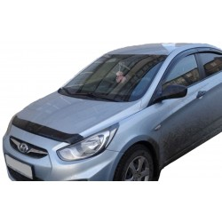 HYUNDAI ACCENT 2010 up SHORT HOOD PROTECTOR STONE BUG DEFLECTOR