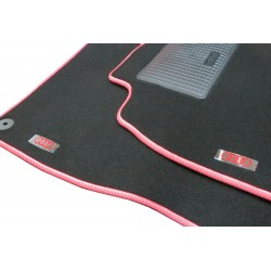 EXCLUSIVE HANDMADE LOGO IN THE CAR MAT FOR AUDI