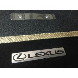 EXCLUSIVE HANDMADE LOGO IN THE CAR MAT FOR LEXUS