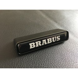 BRABUS LOGO IN THE GRILL FOR MERCEDES-BENZ