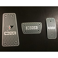 ALUMINUM PADS ON THE PEDALS STYLE WALD FOR TOYOTA LAND CRUISER 200