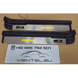EXCLUSIVE DOOR LED SILL PLATES WITH ILLUMINATION FOR TOYOTA MR2 1999 up