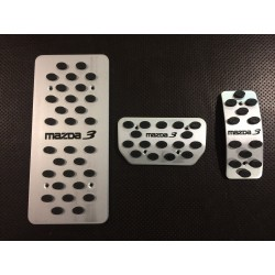 ALUMINUM PADS ON THE PEDALS FOR MAZDA 3 2003 up