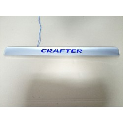 CHROME COVER LED ABOVE LICENSE PLATE WITH ILLUMINATION FOR VOLKSWAGEN CRAFTER 2006 up