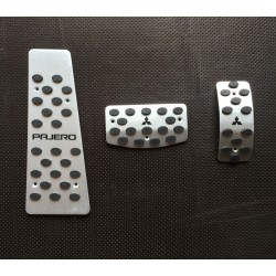 ALUMINUM PADS ON THE PEDALS for MITSUBISHI PAJERO III WAGON 1998 up