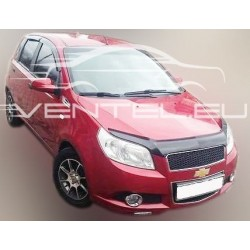 CHEVROLET AVEO HATCHBACK 2008 up HOOD PROTECTOR STONE BUG DEFLECTOR