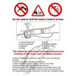 GREAT WALL SAFE 2002 up HOOD PROTECTOR STONE BUG DEFLECTOR
