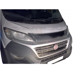 PEUGEOT BOXER 2014 up SHORT BUG SHIELD HOOD PROTECTOR STONE BUG DEFLECTOR