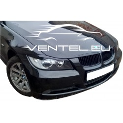 EYELID EYEBROW HEADLIGHT COVER FIT FOR BMW 3 SERIES E90 E91