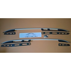 ALUMINIUM ALLOY ROOF RAILS SET ROOF BARS FOR VOLKSWAGEN CADDY 2004 up