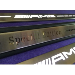 EXCLUSIVE DOOR LED SILL PLATES FOR MERCEDES-BENZ S-CLASS C217 WITH ILLUMINATION
