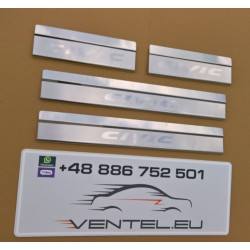 DOOR SILL PLATES FOR HONDA CIVIC IX SEDAN 2012 up