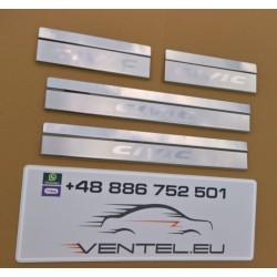 DOOR SILL PLATES FOR HONDA CIVIC IX HATCHBACK 2012 up