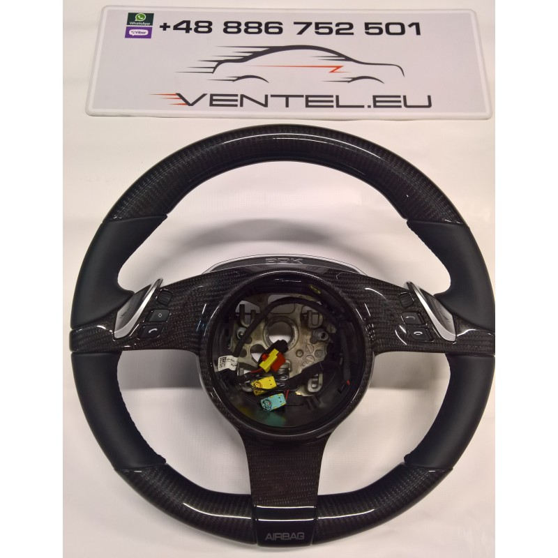 CARBON STEERING WHEEL FOR PORSCHE PANAMERA 2009 up