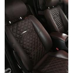EXCLUSIVE HANDMADE LOGO IN THE CAR SEAT FOR PORSCHE
