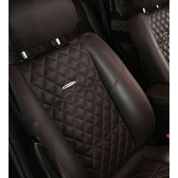 EXCLUSIVE HANDMADE LOGO IN THE CAR SEAT FOR BMW M INDIVIDUAL PERFORMANCE
