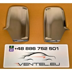 CHROME MIRROR COVER FOR VOLKSWAGEN CRAFTER 2006 up