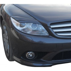 EYELID EYEBROW HEADLIGHT COVER FIT FOR MERCEDES CL C216