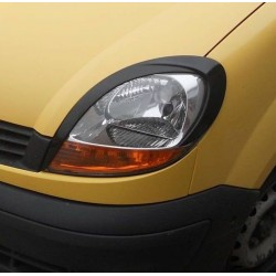EYELID EYEBROW HEADLIGHT COVER FIT FOR RENAULT KANGOO 2003 up