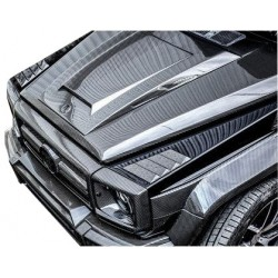 CARBON COVERS FRONT FENDER LIKE BRABUS WIDESTAR FOR MERCEDES G-CLASS W463 GELANDEWAGEN