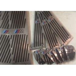 ALUMINUM PADS ON THE PEDALS MANUAL TRANSMISSION FOR BMW