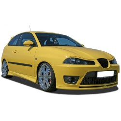 EYELID EYEBROW HEADLIGHT COVER FIT FOR SEAT IBIZA CORDOBA 6L 2002 up