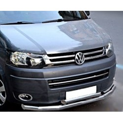 VOLKSWAGEN T5 LIFT 2009 up CHROME GRILLE COVERS TRIM KIT STAINLESS STEEL
