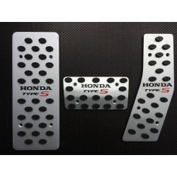 ALUMINUM PADS ON THE PEDALS AUTOMATIC TRANSMISSION FOR HONDA ACCORD VII 2002 up