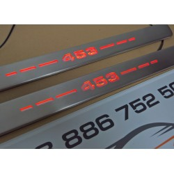 EXCLUSIVE DOOR LED SILL PLATES WITH ILLUMINATION FOR SMART FORTWO III 453