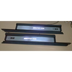 EXCLUSIVE DOOR LED SILL PLATES WITH ILLUMINATION STYLE AMG FOR MERCEDES-BENZ SLK R171