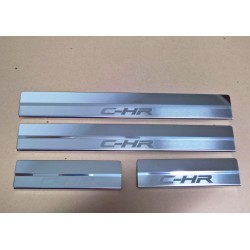DOOR SILL PLATES FOR TOYOTA C-HR 2016 up