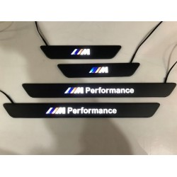EXCLUSIVE DOOR LED SILL PLATES WITH ILLUMINATION FOR BMW X5 F15 or X6 F16