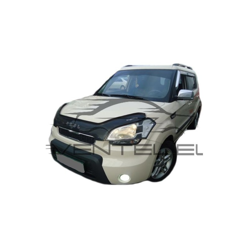 Auto Ventshade 322081 Aeroskin Smoke Acrylic Hood Shield