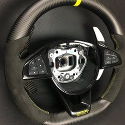 CARBON STEERING WHEEL FOR MERCEDES-BENZ AMG G GT S65 S63 GLE63 CLS63 C63 CLA45