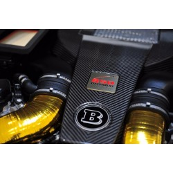 HANDMADE LOGO IN THE ENGINE STYLE BRABUS FOR MERCEDES-BENZ