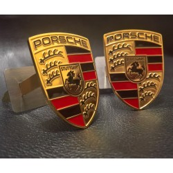 EXCLUSIVE HANDMADE LOGO IN THE CAR SEAT FOR PORSCHE