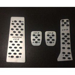 ALUMINUM PADS ON THE PEDALS manual for TOYOTA CAMRY