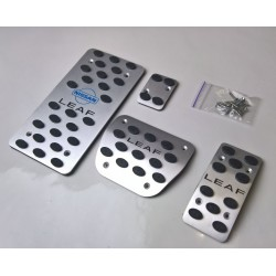 ALUMINUM PADS ON THE PEDALS for NISSAN LEAF ZE0 2011 up