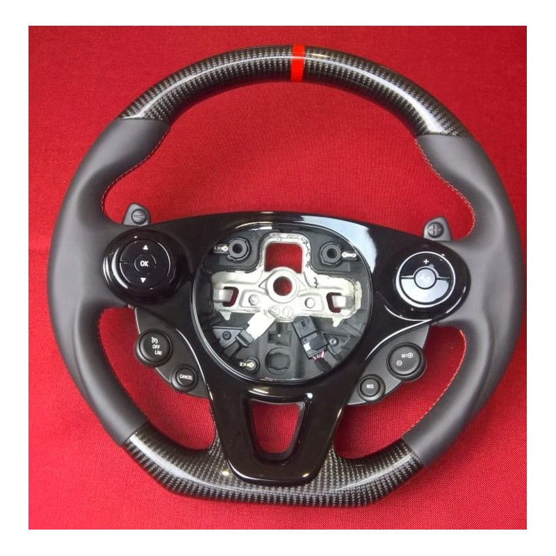CARBON STEERING WHEEL FOR SMART FORTWO III 453