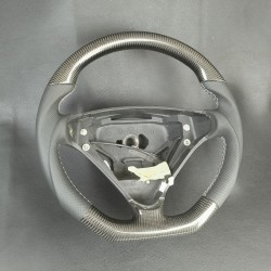 CARBON STEERING WHEEL FOR MERCEDES-BENZ C-CLASS W203 and SLK R171